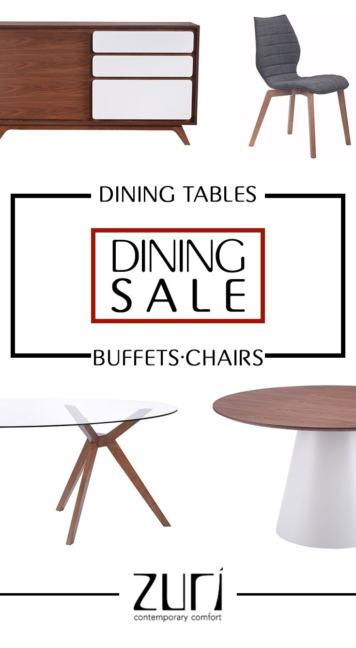 Now through 11/17 prepare your home for the holidays with Zuri Furniture Dining Sale!  Zuri Furniture is dedicated to providing the highest quality contemporary furniture for your modern home.