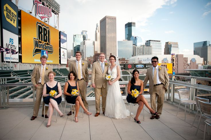 Weddings Target Field Events Minnesota Twins Baseball Www Targetfieldevents At Pinterest