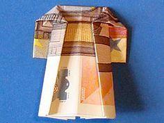 Geld für Kleidung - Mantel - deutsche Bildanleitung