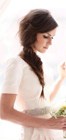 #Peinado #novia #boda