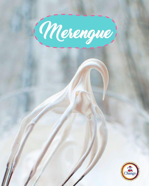 """#TipChango El término """"merengue"""" se usa cuando batís una parte de claras con el doble de Azúcar común Chango :)  #Sweet #Bakery #cook #frosting"""