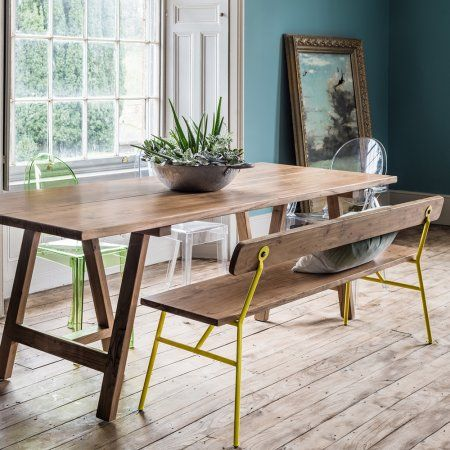 Tokyo Bench with Lemon Legs | Chairs | Graham and Green