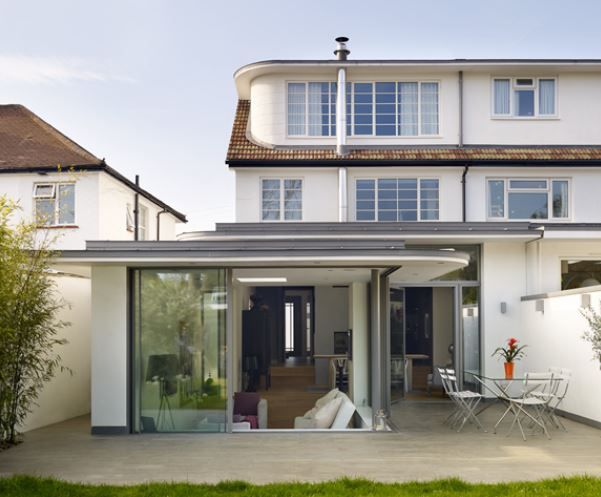17 best images about split roof extensions on pinterest for Split level extension ideas
