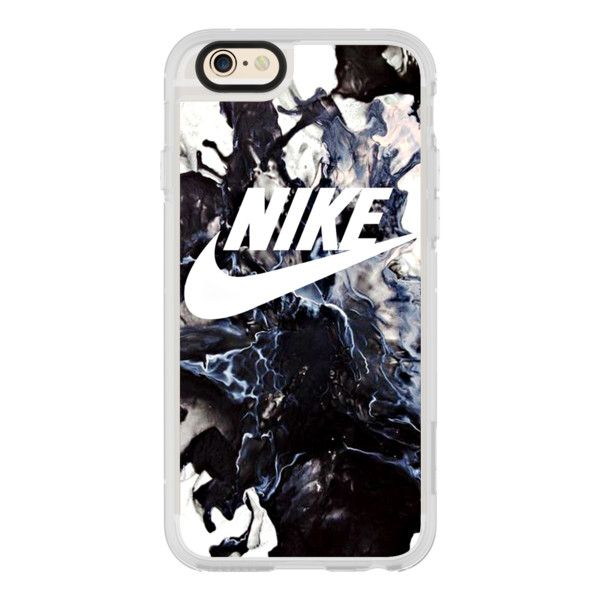 MARBLE BLACK NIKE - iPhone 6s Case,iPhone 6 Case,iPhone 6s Plus... (£31) ❤ liked on Polyvore featuring accessories, tech accessories, iphone case, iphone cover case, apple iphone cases, iphone cases, iphone hard case and clear iphone cases