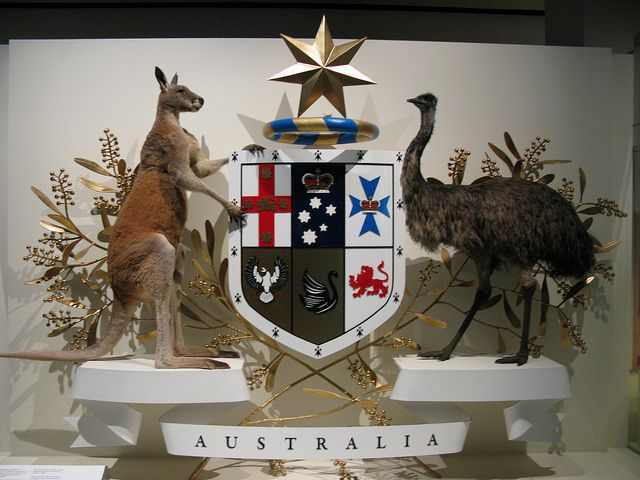 The Australian Coat of Arms