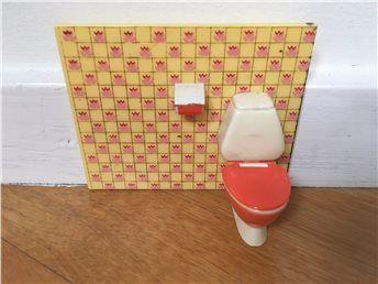 LUNDBY toalett retro fantastisk färgsättning!