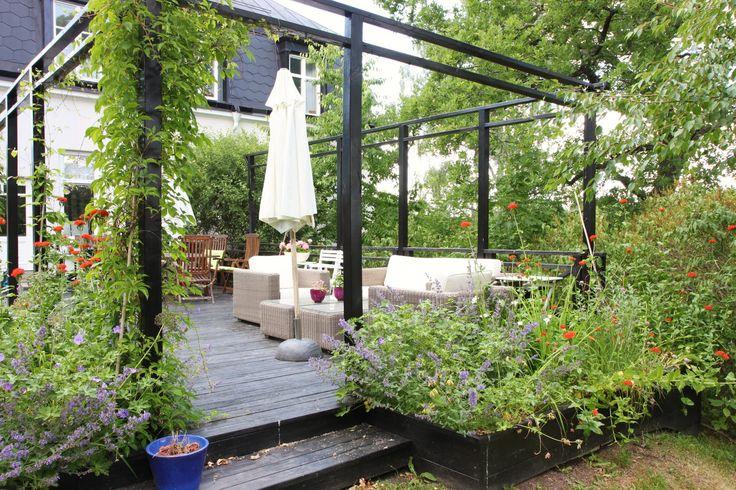 En trädgårdsblogg  med inspiration om trädgård, trädgårdsdesign, trädgårdsanläggning, stenläggning, altan, växthus, pergola och uteplats.