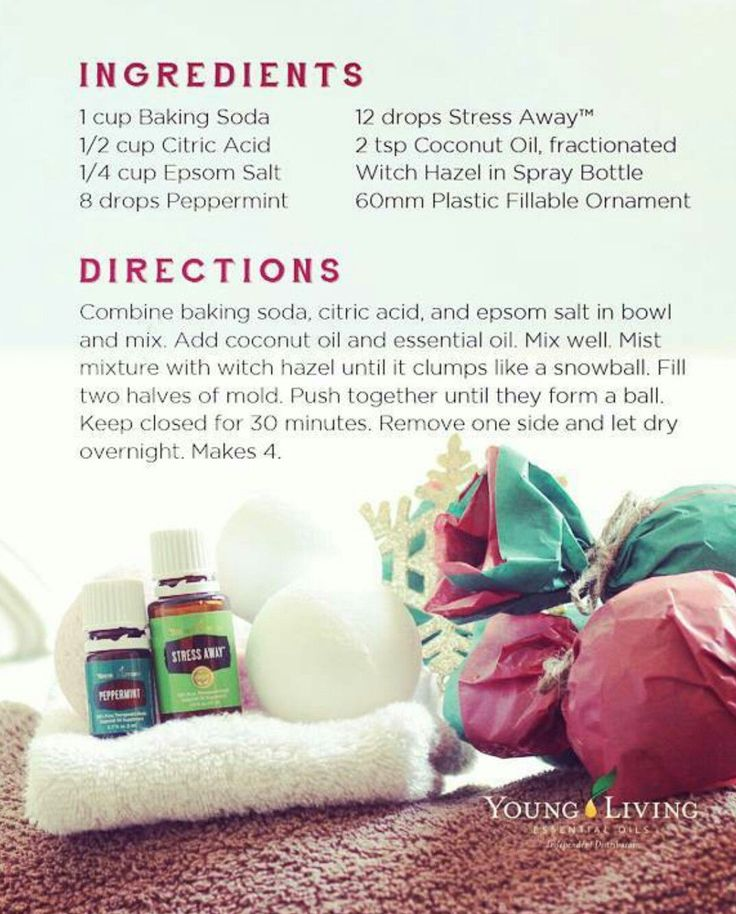 Young Living Essential Oils Bath Bombs Recipe www.youngliving.org/ambermoore Sponsor/Enroller ID: 1561016
