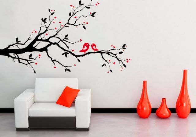 Интерьерные наклейки Это очень простой способ для быстрого преображения вашей комнаты, вариантов масса. Изготавливаются эти наклейки из самоклеющейся виниловой пленки, будут весьма актуальны в детской комнате.