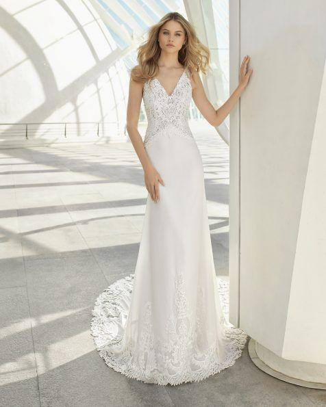 Vestidos de novia - Nueva Colección Rosa Clará 2019  41564cca54b7