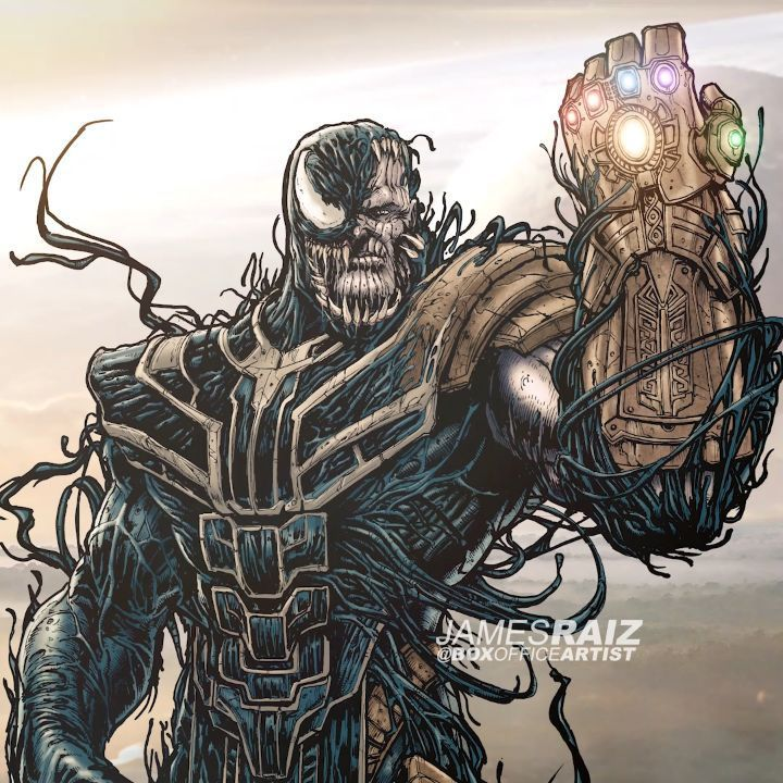 James Raiz On Instagram Exclusive Thanos New Look In Avengers Endgame Lol If You D Like A Print Of This Ch Art Symbiotes Marvel Art Reference Poses