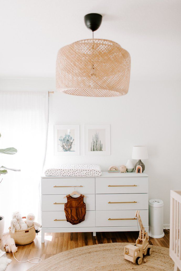 You Have To See This Beautiful Serene Kansas City Home Nursery Neutral Natural Theeverymom
