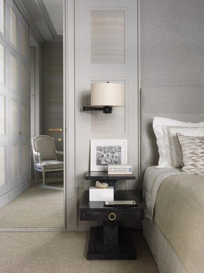 Stylish bedroom in a New York apartment designed by Jean-Louis Deniot  Interiors | Interior design #homedecor #designideas