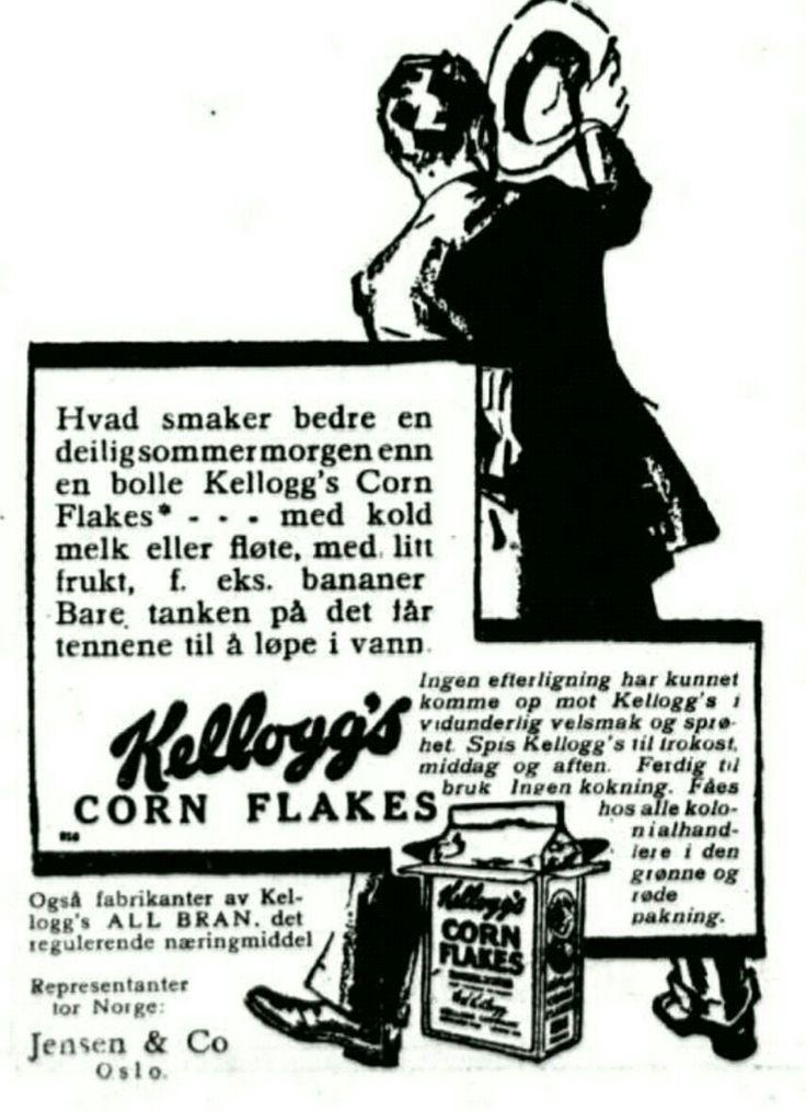 1929 Dagbladet Keølogs reklame