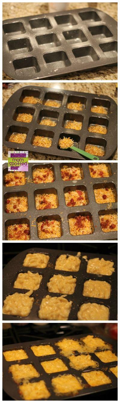 Loaded Mac & Cheese Cups with Cheddar & Bacon Kraft Fresh Take