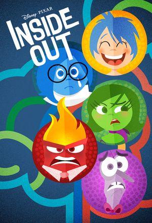 """Pixar's """"Inside Out"""" by Laz Marquez"""