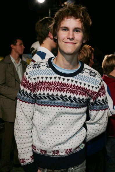 Rhys Wakefield. His awkward sweater makes me love him even more.