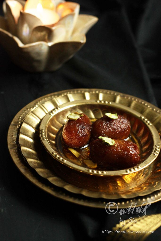 Monsoon Spice | Unveil the Magic of Spices...: Easy Gulab Jamun Recipe (With Milk Powder) | Simple Diwali Sweet Recipe