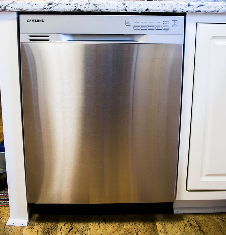 Stainless Steel Dishwasher install Home remodeling, Home