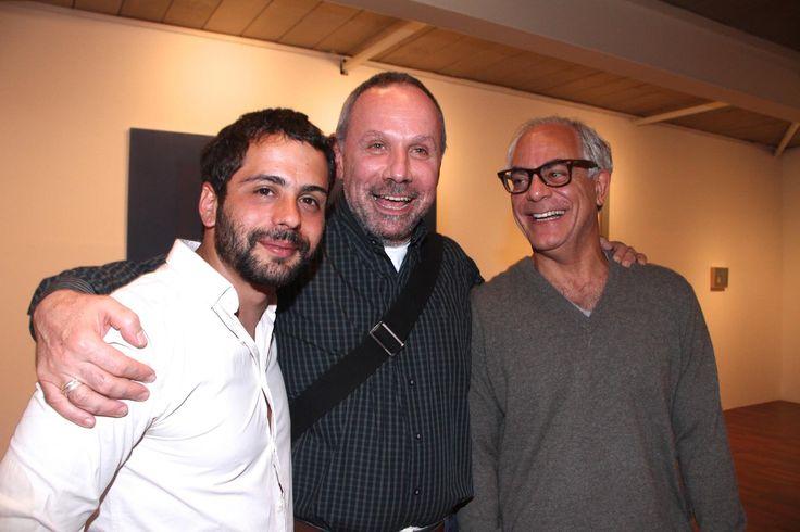 Lucas Arruda, Paulo Pasta e Andre Millan