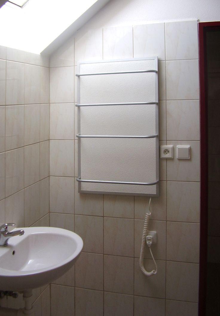Törölköző szárítós infrapanel termosztáttal és infrafűtés
