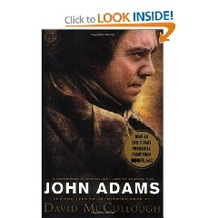"""Left to his own devices, John Adams might have lived out his days as a Massachusetts country lawyer, devoted to his family and friends. As it was, events swiftly overtook him, and Adams--who, David McCullough writes, was """"not a man of the world"""" and not fond of politics--came to greatness as the second president of the United States, and one of the most distinguished of a generation of revolutionary leaders. He found reason to dislike sectarian wrangling even more in the aftermath of war…"""