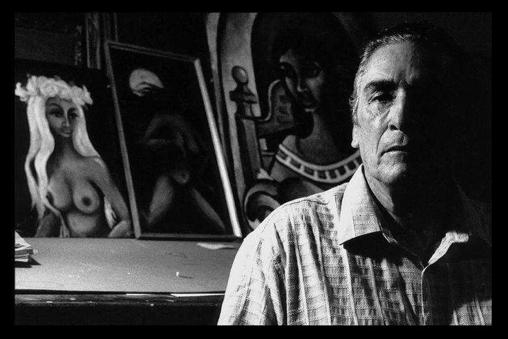 Guillermo Rivas Navas, peintre, sculpteur, Nicaragua (1926-2016) -Photographie Noir et Blanc - Black & White Photography