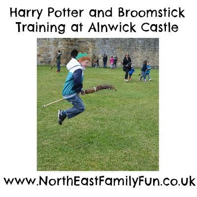 A review of our family day out at Alnwick Castle in Northumberland. Featuring Harry Potter and Broomstick training