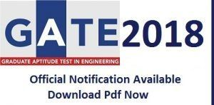 Here provide GATE 2018 Notification, Willing Candidate fill up GATE Online Application Form, Check GATE Exam Date, Pattern Admit Card, GATE 2017 Results.