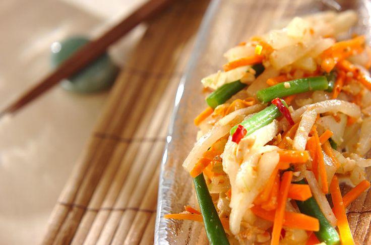 タイのソムタムを冬瓜でアレンジ。むくみ解消、食欲不振にも。冬瓜のソムタム風サラダ/山下 和美のレシピ。[エスニック料理/サラダ]2014.06.20公開のレシピです。