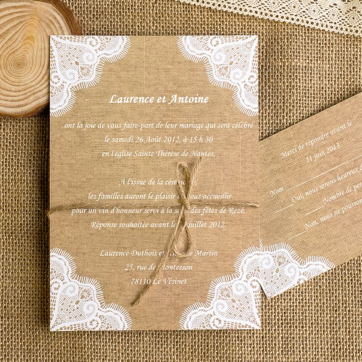 1000 id es sur le th me invitations de mariage de toile de jute sur pinterest toile de jute. Black Bedroom Furniture Sets. Home Design Ideas