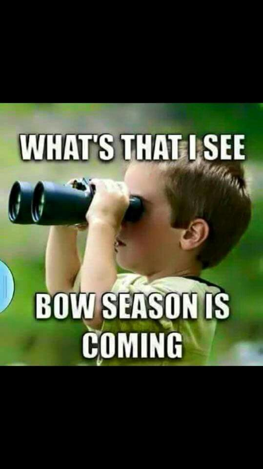 Deer season is almost here.