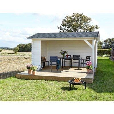 Park Pavillon/Shelter / Bredde: 380 cm / Længde: 300 cm