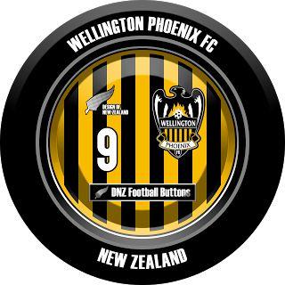 DNZ Football Buttons: Wellington Phoenix FC                                                                                                                                                                                 Mais