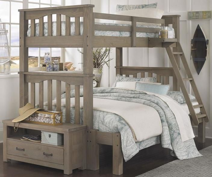 Harper Bunk Bed Double Bottom Single Top Dyi Or Attach And Use Twin Full Bunk Bed Bunk Bed With Trundle Full Size Bunk Beds