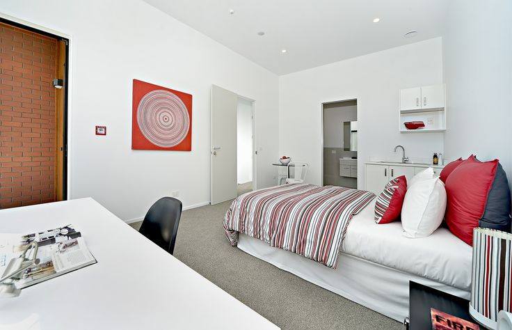 Bursts of colour to spice up the kid's bedroom in this modern family house in the new Auckland development at Hobsonville Point
