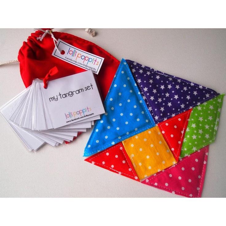 fabric tangram