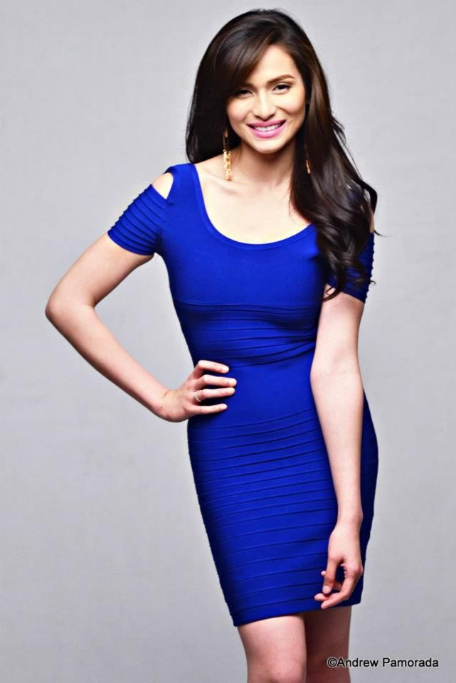 Jennylyn Mercado -Blue Dress