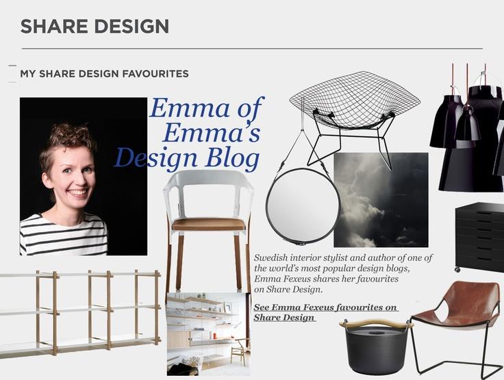 Emma Fexeus Shares Her Favourites