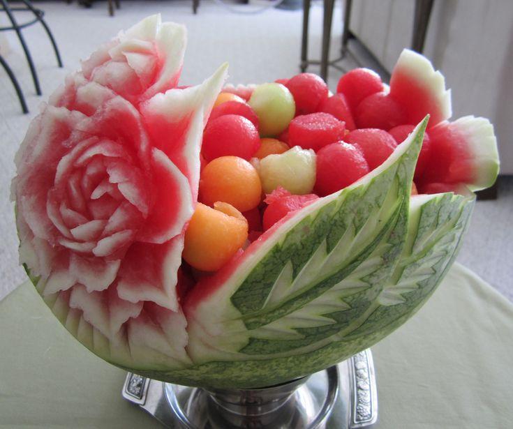Best ideas about fruit basket watermelon on pinterest