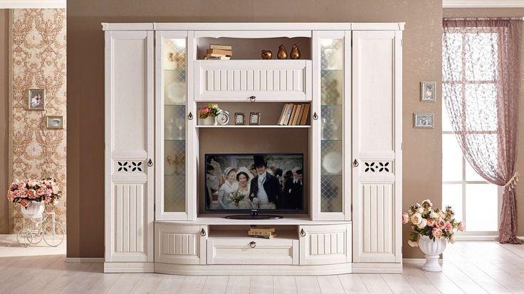 Долгожданное пополнение в мега-популярной коллекции #Амели в стиле #прованс ! Новая функциональная гостиная Амели станет прекрасным выбором для любителей красивых провансовских интерьеров. Модульная #композиция новой гостиной состоит из большой ТВ-тумбы с полками, ящиками и закрытыми стеллажами со стеклом, а также одностворчатых шкафов с дверями.   #ЛюбимыйДом #гостиная #купитьгостиную #гостинаявстилепрованс #интерьергостиной #интерьервстилепрованс #шкафдлягостиной #твтумба…