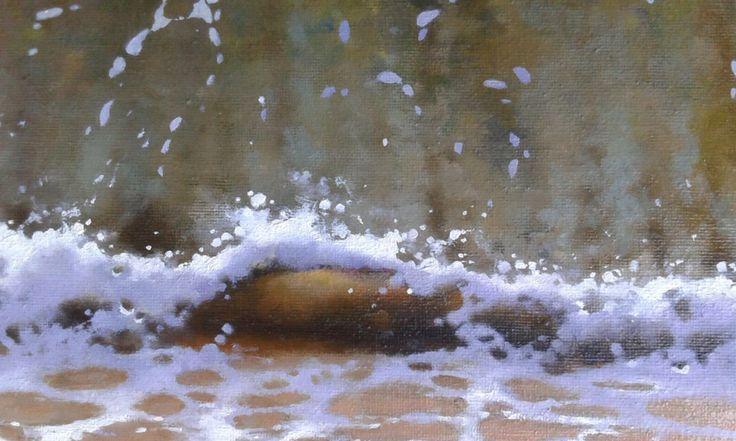 El otro Mediterráneo by José Higuera. Detalle #JoseHiguera #painting #artwork #artFido #artists #details