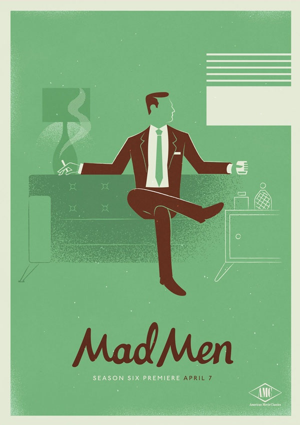 #MadMen Season 6 Poster.