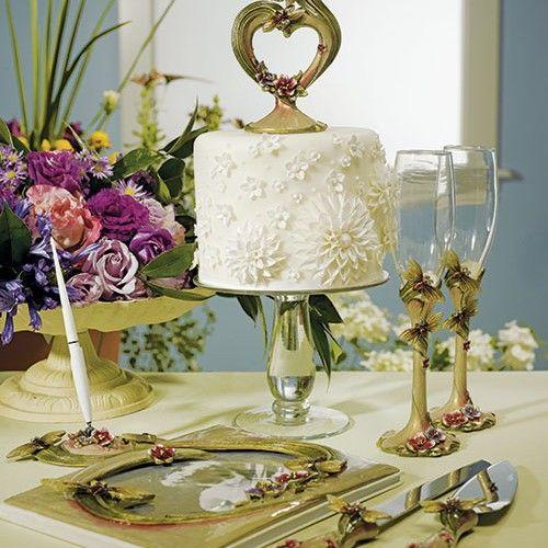 Ornamental Dragonfly Wedding Accessories Set Weddingceremony Weddingreception Weddingcollection