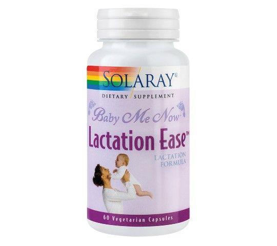 Lactation Ease - 60 capsule vegetale - formula pe bază de plante cu rol în îmbunătățirea lactației și a calității laptelui matern.