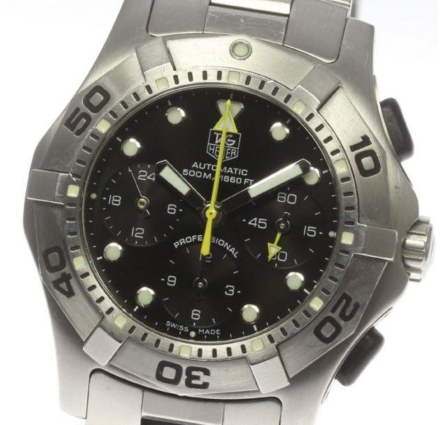 Tag Heuer Aquaracer Chronograph CN211A.BA0353 Stainless Steel Automatic 43mm Mens Wrist Watch