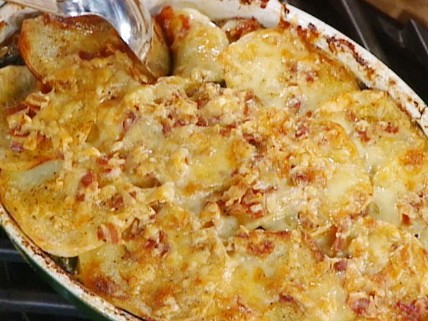 Scalloped Potatoes and Onions recipe from Emeril Lagasse via Food Network