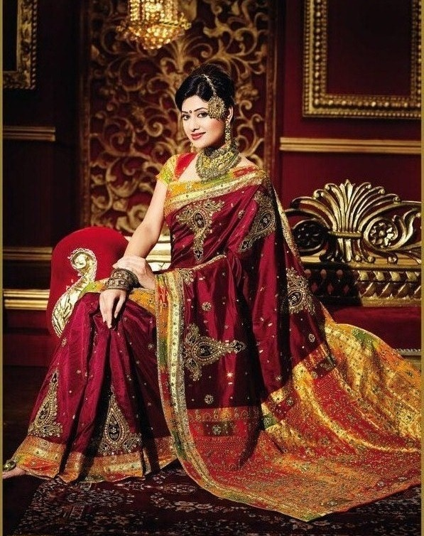 Indian Bridal Sarees, Indian Designer Sarees, Wedding Sari