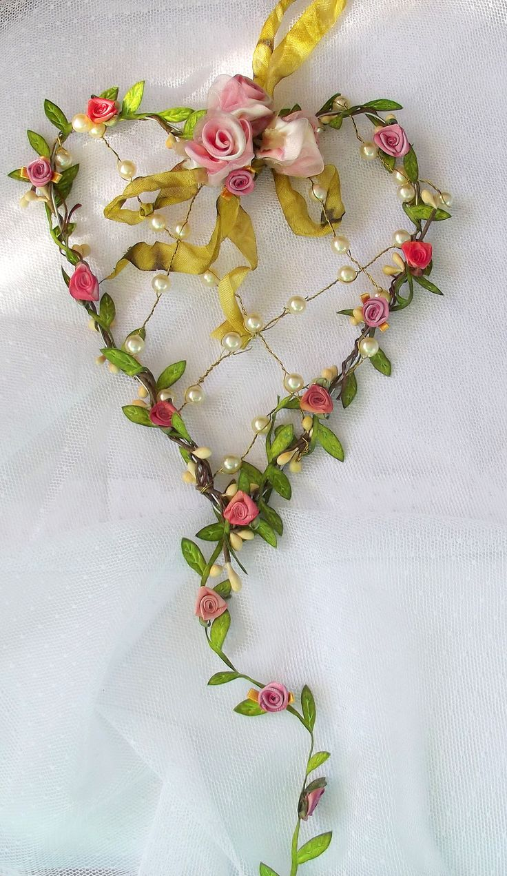 Best ribbon embroidery images on pinterest ribbons