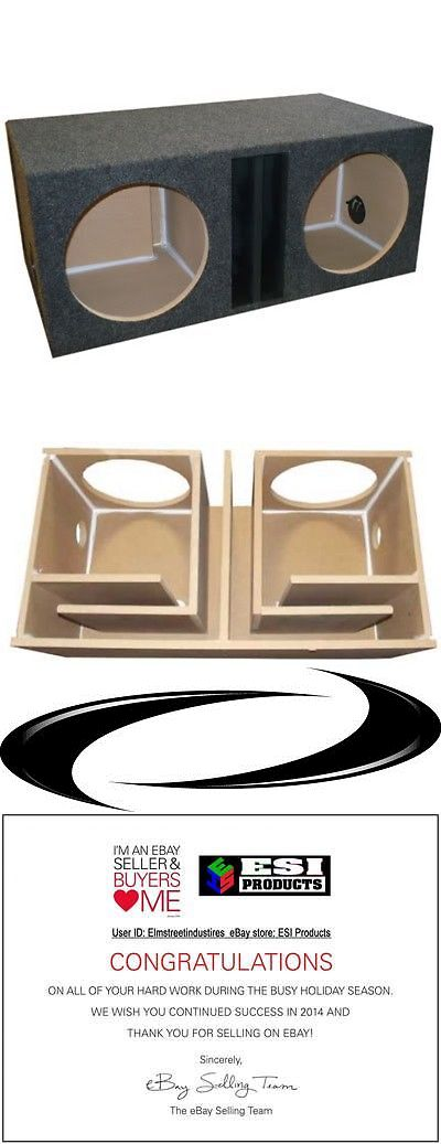 Speaker Sub Enclosures: 15 Inch Dual Subwoofer Sub Box Enclosure Labyrinth Vented -> BUY IT NOW ONLY: $115 on eBay!